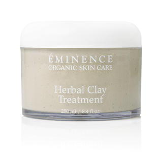 clay face treatment